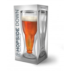 Vaso cerveza cristal doble pared