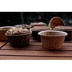 Moldes muffins biodegradables